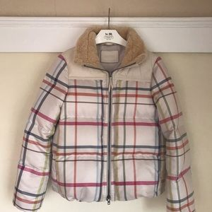 Coach puffer down feather jacket